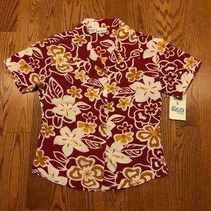 Other - NWT Kids Hawaiian Shirt USC ASU